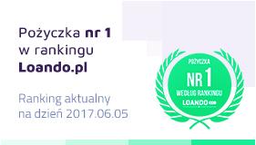 Pożyczka nr 1 w rankingu Loando.pl